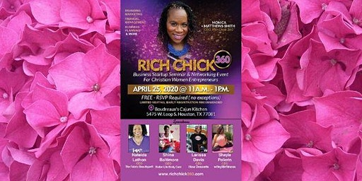 Rich Chick 360 Presents: Business Start-Up Seminar & Networking Event