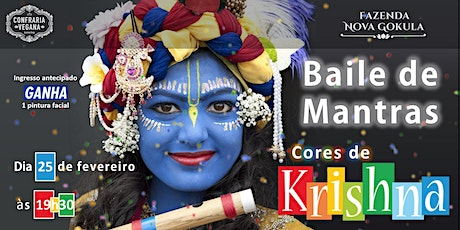 "BAILE DE MANTRAS: ""AS CORES DE KRISHNA"" ingressos"