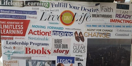 Vision Board and Goal Planning Session tickets