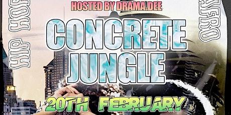 Concrete Jungle- Afro Vs Hip Hop Tickets
