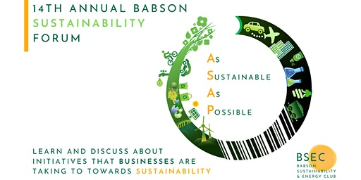 14th Annual Babson Sustainability Forum