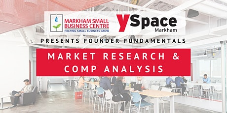 Founder Fundamentals - Market Research & Competitive Analysis tickets