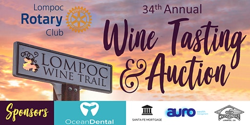 Lompoc Rotary 34th Annual Wine Tasting and Auction