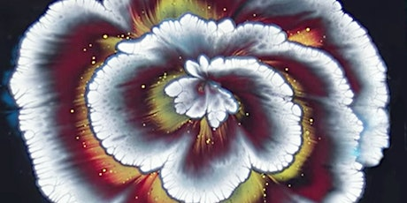 Flower Making with Acrylic Pouring Technique Adults Class tickets