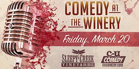 Sleepy Creek Presents: C-U Comedy at the Winery tickets