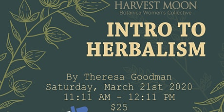 Intro to Herbalism tickets