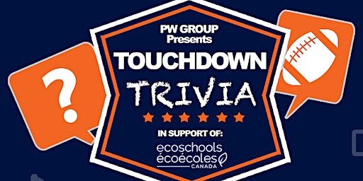 Touchdown Trivia in support of EcoSchools Canada