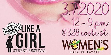 Like A Girl Street Festival tickets