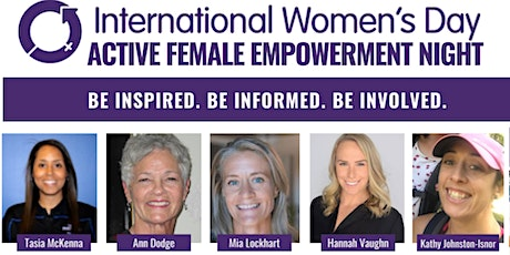 Active Women! A Female Empowerment Night for International Women's Day 2020 tickets