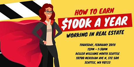 How to Earn $100k a Year Working in Real Estate tickets