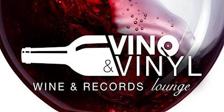 Vino & Vinyl Wine Tasting Class tickets