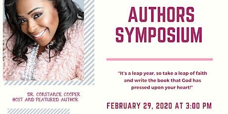 Authors Symposium  tickets