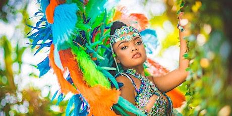 Cop of Trinidad Carnival GLAM Hub Deposit tickets