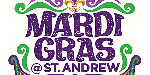 Mardi Gras Dinner, Dessert, and Dancing
