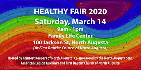Healthy Fair 2020 - North Augusta tickets