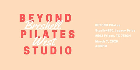 BEYOND Pilates x Breshell tickets