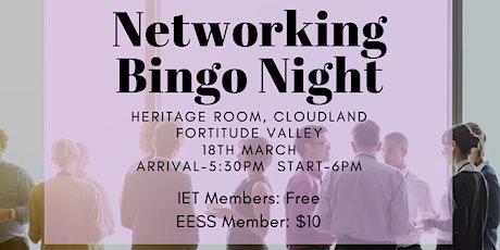 QUT EESS and The IET Bingo Industry Night tickets