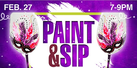 Wine Glass Paint & Sip with ArtWorx Events at Mc Donagh's Pub tickets