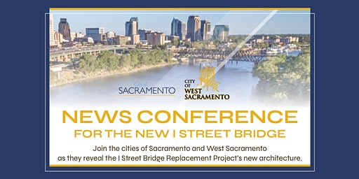 Press Conference for the new I Street Bridge