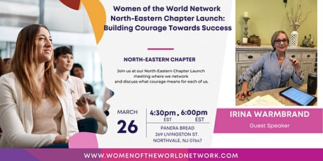Women of the World Network North-Eastern Chapter, NJ: Building Courage tickets