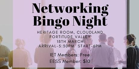 QUT EESS and the IET Industry Bingo Night tickets