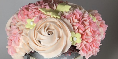 Easter themed cupcake bouquet workshop