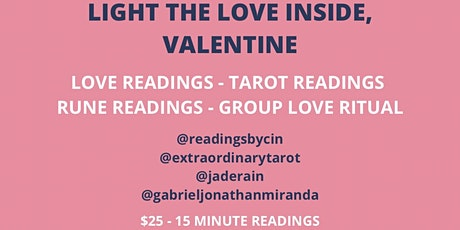 Light the Love Inside, Valentine - Annual Self Love Event tickets