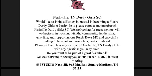 Nashville Dgz Social Club Meet & Greet