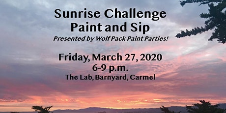 Sunrise Challenge Paint and Sip tickets