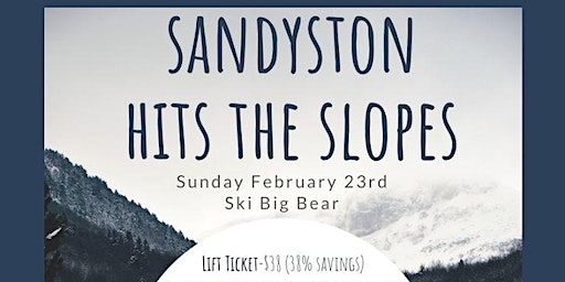 Sandyston Hits The Slopes 2020