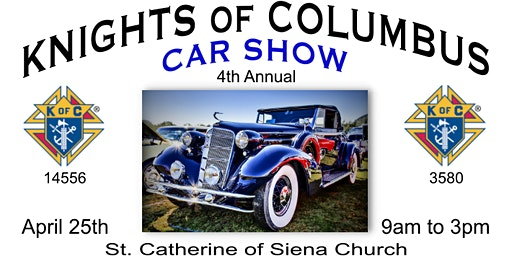 CAR SHOW Knights of Columbus 4th Annual Clearwater Car Show