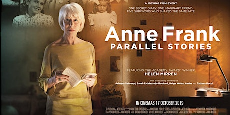 Anne Frank: Parallel Stories - Encore Screening -Tue 17th  March - Sydney tickets