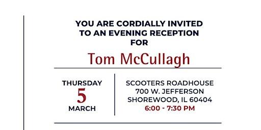 Kickoff for Tom Mccullagh For Senate