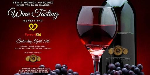 Ferrari Kid Wine Tasting Benefit