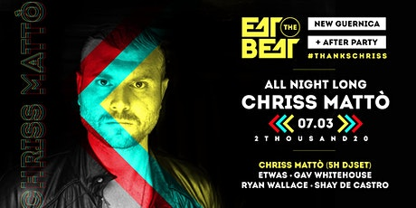 Eat The Beat : Chriss Mattò - All Night Long tickets
