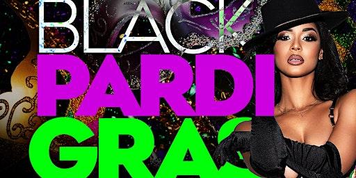 All Black Pardi Gras Party