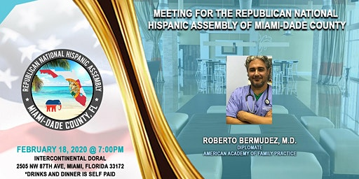 2020 February Miami-Dade County Chapter General Meeting