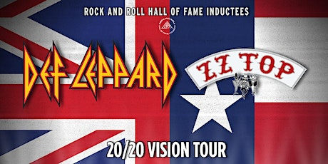 DEF LEPPARD ZZ TOP 20/20 VISION TOUR tickets