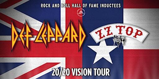 DEF LEPPARD ZZ TOP 20/20 VISION TOUR