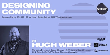Designing Community with Hugh Weber tickets