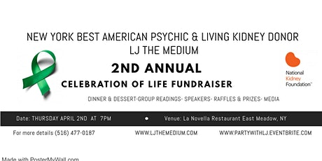 LJ the Medium's 2nd Annual Celebration of Life Event tickets