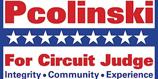 Campaign Fundraiser for John Pcolinski for Circuit Court Judge