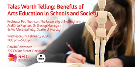 Tales Worth Telling: Benefits of Arts Education in Schools and Society tickets