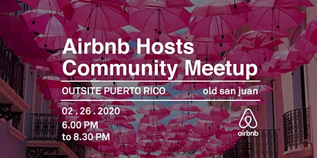 Airbnb Hosts Community Meetup tickets
