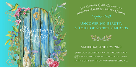 Uncovering Beauty - A Tour of Secret Gardens 2020 tickets