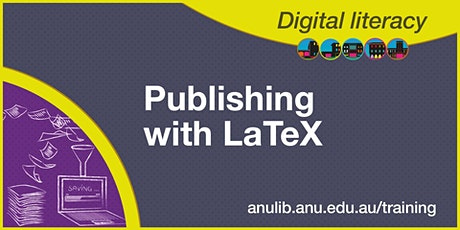 Publishing with LaTeX tickets