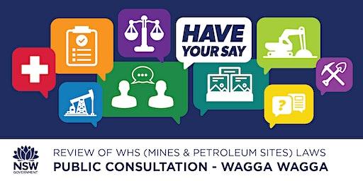 Public Consultation: Review of WHS (Mines & Petroleum Sites) Laws