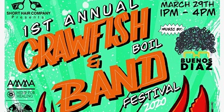 ShortHair Company Presents: 1st Annual Crawfish and Bands Festival tickets
