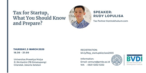 Tax for Startup, What You Should Know and Prepare