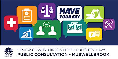 Public Consultation: Review of WHS (Mines & Petroleum Sites) Laws tickets